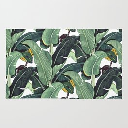 banana leaf pattern Rug