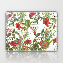 Ruby & Cerulean Floral Laptop & iPad Skin