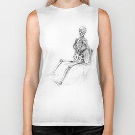 Skeleton Biker Tank