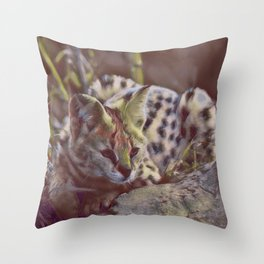 Focused II Throw Pillow