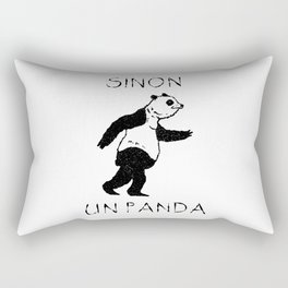 Sinon, un panda (2) Rectangular Pillow