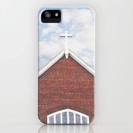 Red Brick Church iPhone Case