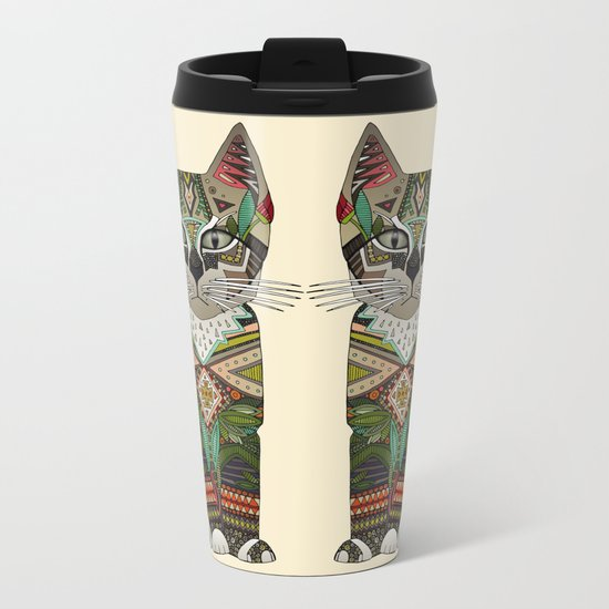 pixiebob kitten cream Metal Travel Mug