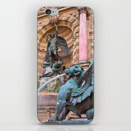 Saint-Michel Fountain iPhone Skin