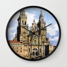 Catedral de Santiago de Compostela/Santiago de Compostela Cathedral Wall Clock