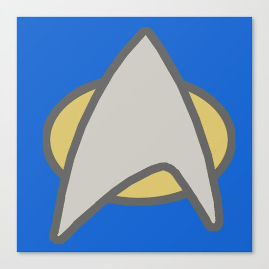 Star Trek, Communicator, 2 Canvas Print