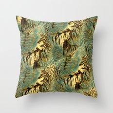 Sea Safari Throw Pillow