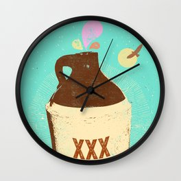 FOREST MOONSHINE Wall Clock