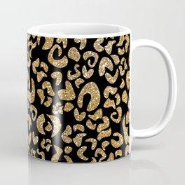 Animal print glitter gold Coffee Mug