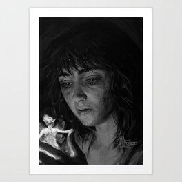 Shiny Objects Art Print