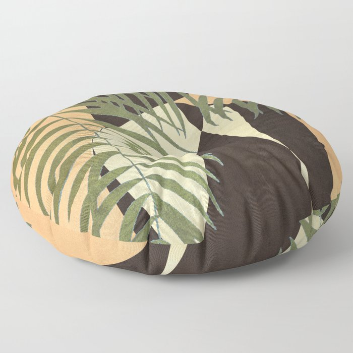 Resting in a Shade Floor Pillow