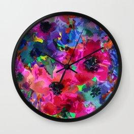 Glorious Garden Wall Clock