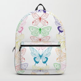Butterfly Rainbow Backpack
