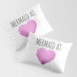 Mermaid At Heart Pillow Sham