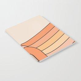 Tangerine Ribbon Notebook