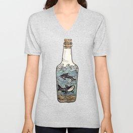 bottled up Unisex V-Neck