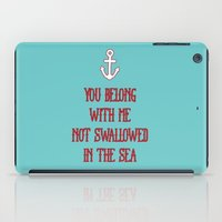 coldplay iPad Cases featuring You Belong With Me by larlener