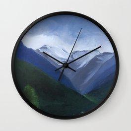 Austrian Landscape Wall Clock