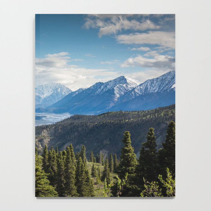 Mountain Landscape # sky Notebook