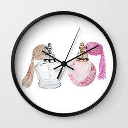 Vintage perfume Wall Clock