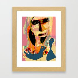 LAURE Framed Art Print
