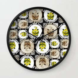 Happy Cat Trump Inauguration Wall Clock