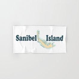 Sanibel Island - Florida. Hand & Bath Towel