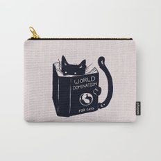 World Domination For Cats Carry-All Pouch