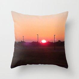 Bixby Sunrise Throw Pillow