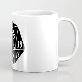 20 Sided Spindown die Coffee Mug