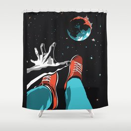The Point of No Return Climate Change Art Print Shower Curtain