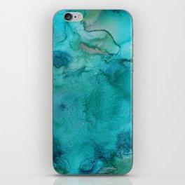 Aqua Tones iPhone Skin