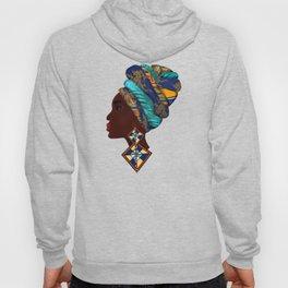 African woman,art. Hoody