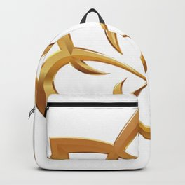 Golden Lotus Backpack