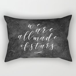 We are all made of stars Rectangular Pillow