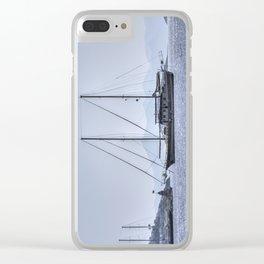 Schooner Yalikavak Marina Bodrum Clear iPhone Case