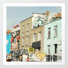 Camden Street Art Print
