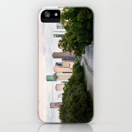 Houston S Curve at dusk! iPhone Case