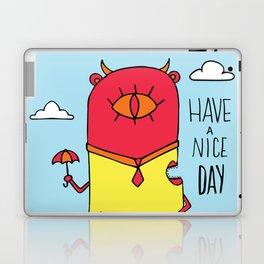 Have a Nice Day Illustration Laptop & iPad Skin