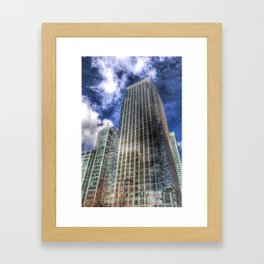 Citi Bank London Framed Art Print