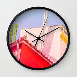 Surrealism Geometry Wall Clock