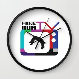 FreeRunTV Wall Clock