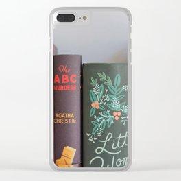 Shelfie in Black Clear iPhone Case