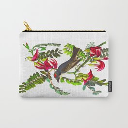 Piping Flycatcher Bird Carry-All Pouch
