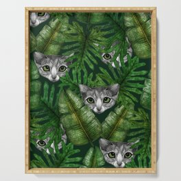 Jungle Kittens Serving Tray