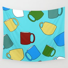 Coffee Mugs! Wall Tapestry
