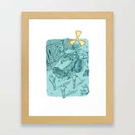Hazardous Waste Framed Art Print