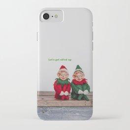 Let's get elf'ed up. iPhone Case