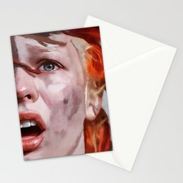 Leeloo Played By Milla Jovovich - The Fifth Element Stationery Cards
