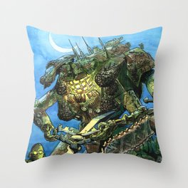 The Trapper Throw Pillow